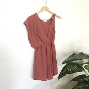 Rust colored dress- Lush brand